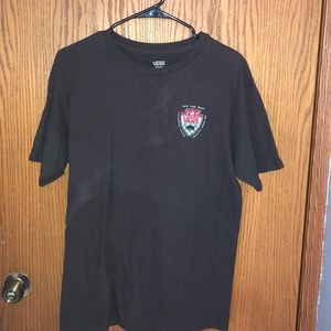 Vintage Medium Black Vans T-shirt